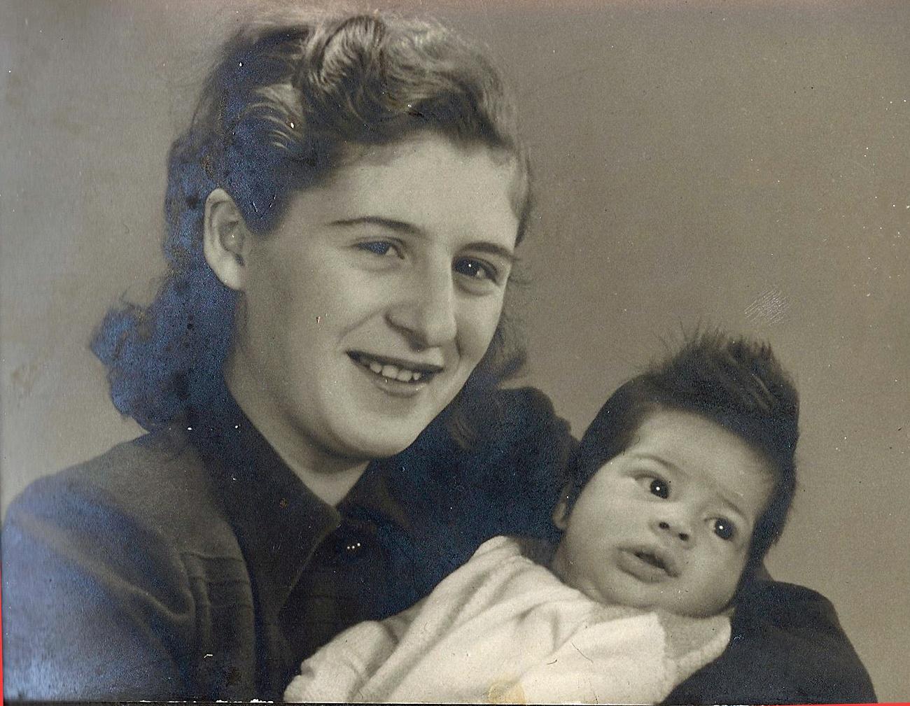 Joanne met Erna