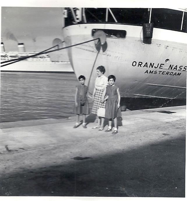 Joanne met Inge en Erna in Trinidad