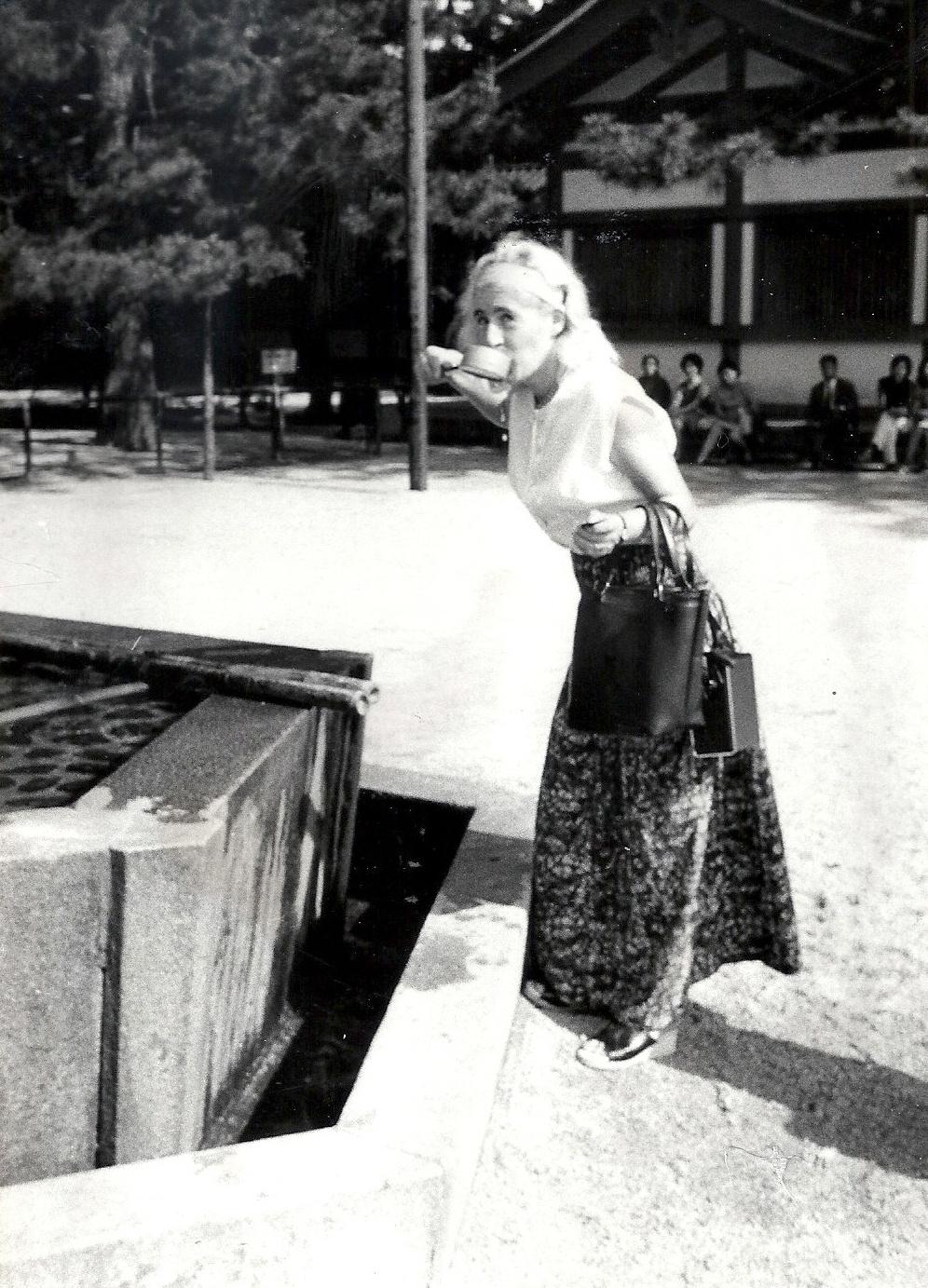 Joanne in Japan