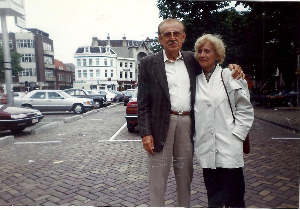 Joanne en Ted in Utrrecht